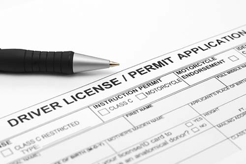 Texas Drivers License Application
